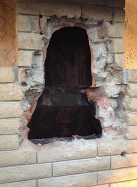 Empty chimney: Watch out world, that women is loose.
